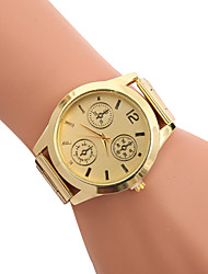 cheap -Women's Quartz Wrist Watch / Hot Sale Stainless Steel Band Casual Dress Watch Fashion Cool Gold