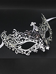 Women's Metal Laser Cut Masquerade Venetian Party Mask2004A3
