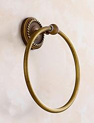 Недорогие -полотенце кольцо античная латунь настенные вешалки для полотенец аксессуары для ванной комнаты