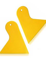 Недорогие -ziqiao 2pcs / комплект треугольник пластиковый ракель скребок авто окно виниловая пленка установить скребковые инструменты