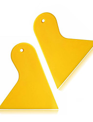 ZIQIAO 2pcs/Set Triangle Plastic Squeegee Scraper Auto Window Vinyl Film Install Scraper Tools