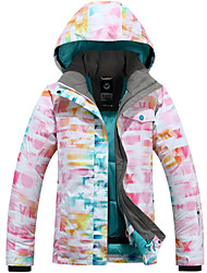 Abbigliamento da neve Giacche da sci/snowboard Per donna Abbigliamento invernale Tessuto sintetico Vestiti invernaliImpermeabile Tenere