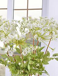 1 1 Une succursale Plastique Plantes Arbre de Noël Fleurs artificielles 29.5inch/75cm