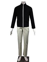 preiswerte -Inspiriert von Naruto Naruto Uzumaki Anime Cosplay Kostüme Cosplay Kostüme einfarbig Langarm Top Hosen Für Mann