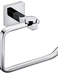 papier toilette titulaire toilette porte-rouleau accessoires de salle de bain mur de chrome montée en laiton contemporaine