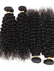 """cheap -8A Brazilian Hair Queen Wave Beauty Kinky Curly Hair Weaves 3PCS 8""""-30""""Unprocessed Hair Kinky Curly Hair Extensions"""