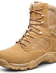 Men's Boots Fall / Winter Work & Safety / Round Toe Suede Outdoor / Athletic / Casual Flat Split Joint /