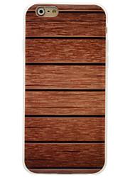 Per iPhone 6 iPhone 6 Plus Custodie cover IMD Custodia posteriore Custodia Simil-legno Morbido TPU per Apple iPhone 6s Plus iPhone 6 Plus