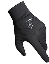 Перчатки для сенсорного экрана Перчатки для велосипедистов Лыжные перчатки Муж. Жен. Сохраняет тепло Катание на лыжах