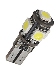 cheap -10 X Canbus Error Free White T10 5-SMD 5050 Interior LED Light bulbs W5W 194 168