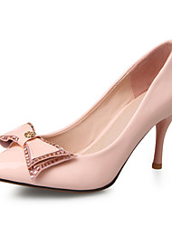 Women's Heels Spring / Summer / Fall  / Jelly / Pointed Toe  Wedding / Dress / Casual Stiletto HeelBowknot /
