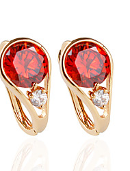 cheap -Women's Stud Earrings - Fashion Red / Blue / Pink For Wedding