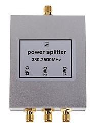 Недорогие -3-полосная сма типа делитель мощности сплиттер 380-2500mhz для мобильного телефона усилитель сигнала ретранслятора