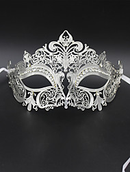Sexy Venetian Mask Masquerade Rhinestone Laser Cut  Metal Party3003A4