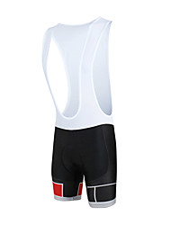cheap -ILPALADINO Men's Cycling Bib Shorts Bike Bib Shorts / Bottoms 3D Pad, Quick Dry, Windproof Fashion Lycra Red Bike Wear / Anatomic Design
