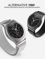 preiswerte -Uhrenarmband für Gear S2 Classic Samsung Galaxy Mailänder Schleife Edelstahl Handschlaufe