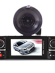 cheap -Dual Lens Car Camera Vehicle DVR Dash Cam Two Lens Video Recorder F600