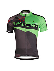 cheap -ILPALADINO Men's Short Sleeves Cycling Jersey Bike Jersey, Quick Dry, Ultraviolet Resistant, Breathable, Sweat-wicking, Reflective Strips