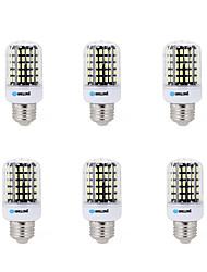 cheap -BRELONG® 6pcs 7W 450lm E14 / E26 / E27 / B22 LED Corn Lights B 108 LED Beads SMD 5733 Decorative Warm White / Cold White 200-240V /