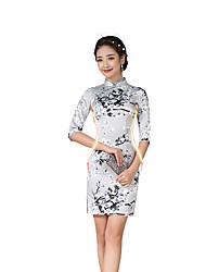 Недорогие -Классика Жен. Юбки Платье A-Line Платье карандашом Косплей Короткий