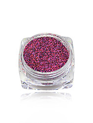 cheap -1g Shining Sugar Glitter Dust Powder Nail Art Decoration Acrylic Nail Glitter Powder #533-542
