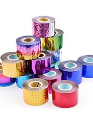 baratos -1 rolls Nail Art Sticker Jóias de Unhas / Autocolantes de Unhas 3D maquiagem Cosméticos Prego Design Arte