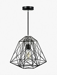 Pendant Light ,  Vintage Retro Painting Feature for Mini Style Metal Living Room Bedroom Dining Room Entry Hallway Garage