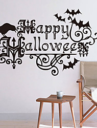 cheap -Personality Halloween Series  Wall Stickers Bedroom Living Room Decorative Sticker Removable Waterproof