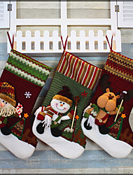 cheap -1pc Holidays & Greeting Stockings Christmas, Holiday Decorations Holiday Ornaments