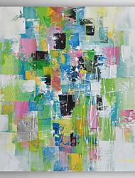 Hånd-malede Abstrakt Oliemalerier,Moderne Et Panel Canvas Hang-Painted Oliemaleri For Hjem Dekoration