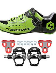 economico -SIDEBIKE Scarpe da ciclista con pedale e tacchetto Scarpe da bici da corsa Per adulto Ammortizzamento Bici da strada All'aperto Classico