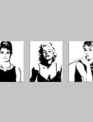 visuelle star®audrey Hepburn Leinwanddruck Marilyn Monroe Sterne Dekoration Kunst