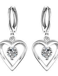 May Polly Europe and the United States fashion heart set Zircon Earrings