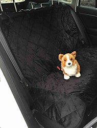 cheap -Dog Car Seat Cover Pet Mats & Pads Solid Waterproof Foldable Black Brown For Pets
