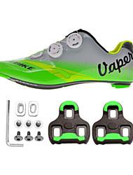 Недорогие -SIDEBIKE Муж. Обувь для шоссейного велосипеда / Велообувь с педалями и шипами Нейлониуглеродное волокно / Резина Велосипедный спорт /