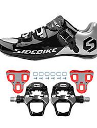BOODUN/SIDEBIKE® Sneakers Scarpe da bici da corsa Scarpe da ciclismo Scarpe da ciclista con pedale e tacchetto Unisex AmmortizzamentoBici