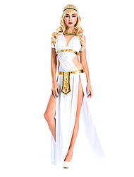 Movie/TV Theme Costumes Cosplay Costumes Party Costume Female Halloween Festival/Holiday Halloween Costumes White Solid