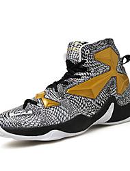 Для мужчин обувь Кожа Весна Лето Осень Зима Удобная обувь Спортивная обувь Для баскетбола Шнуровка Назначение Атлетический Повседневные