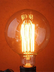 g125 40w ampoule e27 ampoules à incandescence rétro edison (ac220-240v)