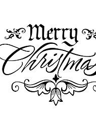 Hot Fashion Merry Christmas Tree Decor Xmas Decals Art Vinyl Window Wall Sticker Gift Festival Mual Art