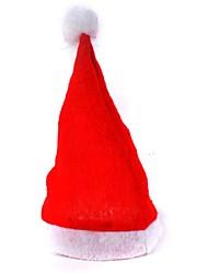 Недорогие -Взрослый красный обычные шляпы Рождество Санта шляпы рождественские шапки детей шапка