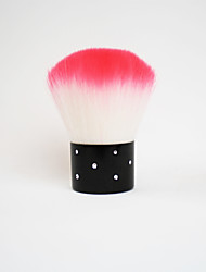 cheap Powder Brushes-1 Blush Brush Powder Brush Goat Hair Portable Travel Hypoallergenic Limits Bacteria Metal Face