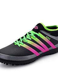economico -Per uomo Scarpe Microfibra Primavera Autunno Comoda scarpe da ginnastica Calcio Lacci per Sportivo All'aperto Nero Verde Blu