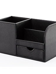 cheap -Organizer Boxes MultifunctionPU Leather
