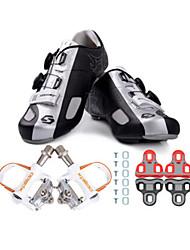 economico -SIDEBIKE Scarpe da ciclista con pedale e tacchetto Scarpe da bici da corsa Per adulto Ammortizzamento Bici da strada All'aperto Maglia