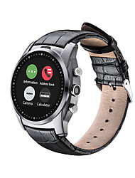 cheap -Smartwatch for iOS / Android Water Resistant Timer / Stopwatch / Activity Tracker / Sleep Tracker / Heart Rate Monitor / 0.3 MP / Hands-Free Calls / Media Control / Message Control / Camera Control