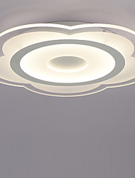 cheap -Flush Mount Downlight - LED, 110-120V / 220-240V, Warm White / White, LED Light Source Included / 10-15㎡ / LED Integrated