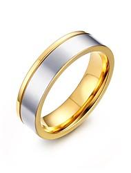 povoljno -Muškarci Tikovina / Pozlaćeni Prstenje za parove - Personalized / Moda Obala Prsten Za Party / Dnevno / Kauzalni