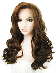 IMSTYLE 24Hot Selling  Long Water Wave Synthetic Lace Front Wigs