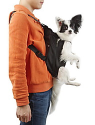 cheap -Cat Dog Carrier & Travel Backpack Front Backpack Pet Baskets Solid Portable Breathable Black Orange Red Blue Pink For Pets